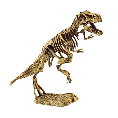 Betued Esqueleto De Dinosaurio, Decoración del Hogar, Kit De Fósiles De Excavación De Dinosaurio De Plástico, Modelo De Esqueleto De Dinosaurio para Niños De 7 A 14 Años para Niñas(tiranosaurio)
