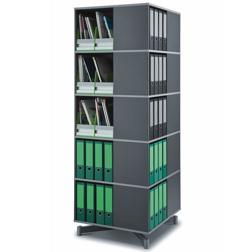 Hot Sale Moll Spin and Store 5 Tier Carousel Shelving Unit