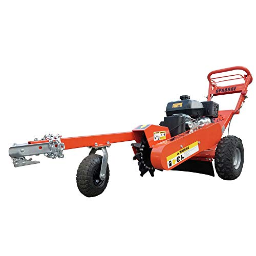 Detail K2 OPG888E 14 in. 14 HP Gas Commercial Stump Grinder with Electric Start