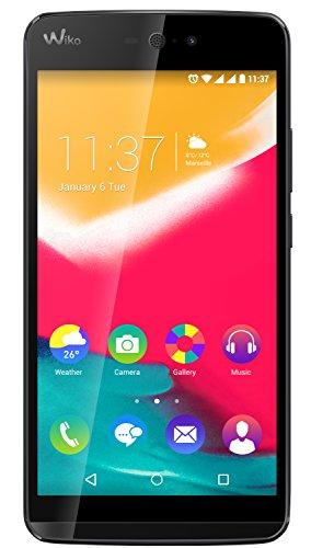 Wiko Rainbow Jam 4G Smartphone, 8 GB, Dual SIM, Nero