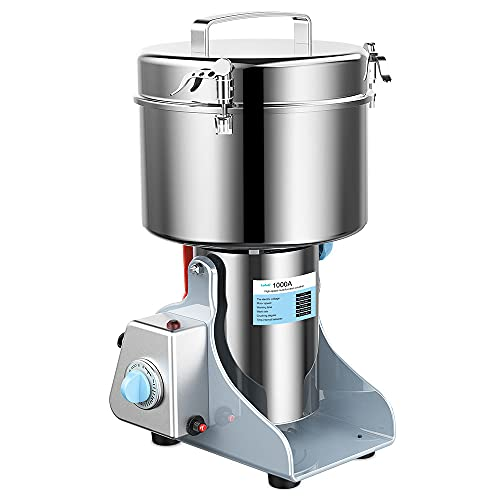 Lafati 1000g Stainless Steel Electric Grain Grinder Mill, High Speed...