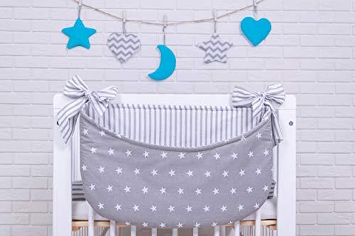 Amilian® Betttasche Spielzeugtasche Design29 Babybetttasche Windelntasche Spielzeughalter für Kinderbett NEU