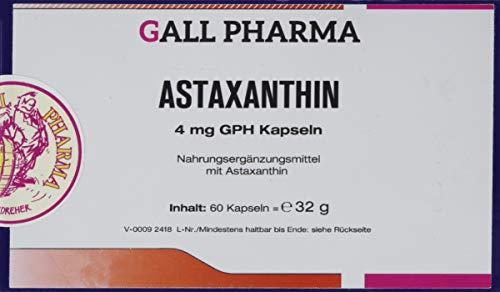 Gall Pharma Astaxanthin 4 mg GPH Kapseln, 1er Pack (1 x 60 Stück)