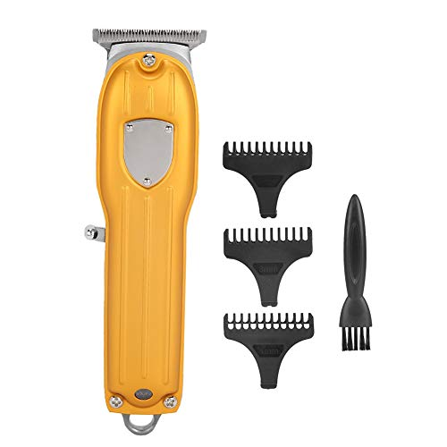 Electric Hair Trimmer, Rechargeable Grooming Trimmer Tools Hair Cutting Kit Precision Cordless Hairstyle Cutter Quiet Hair Removal Best Gift for Men Barber Father