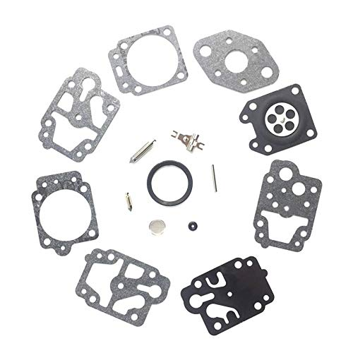 Kit de diafragma/juntas de carburador Kit de diafragma Junta y Kit de reparación de agujas para Walbro WYL Carburador K20-WYL