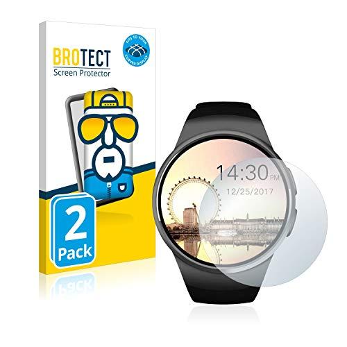 BROTECT Full-Cover Schutzfolie kompatibel mit Evershop Bluetooth Smartwatch (1.5