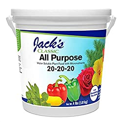 Jack's Classic All-purpose plant food