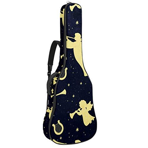 Bolsa de guitarra clásica de ángeles y arpas,...