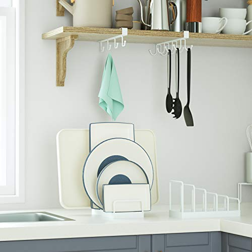SRIWATANAお皿立てディッシュスタンドディッシュラック皿置きキッチン台所用品食器ラックキッチンツールキッチン収納ホワイト