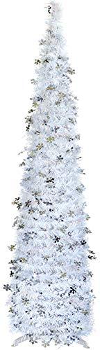 Lápiz decorativo para árbol de Navidad de 1,5 m, diseño d