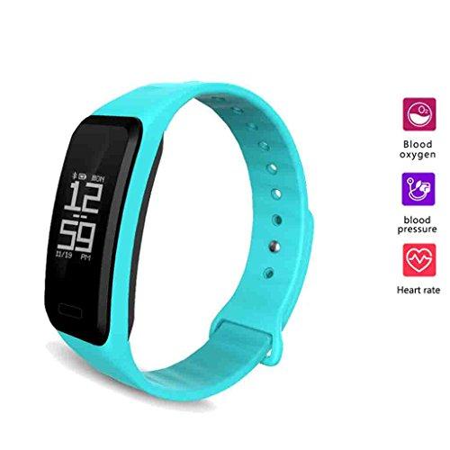FFNG bloeddrukmeter voor bloeddruk, smart armband, groot scherm, meting, hartslagmeter, sportieve stappen, slaapmonitor, waterdichte bluetooth-armbanden
