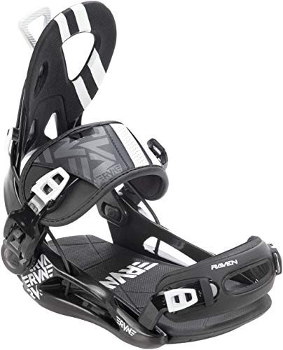 RAVEN Snowboard Bindung Fastec FT500 (Black, XL (45-47))