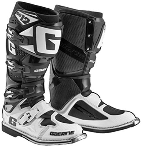 Gaerne 2174-014-012 SG-12 Boots (Black/White, 12)