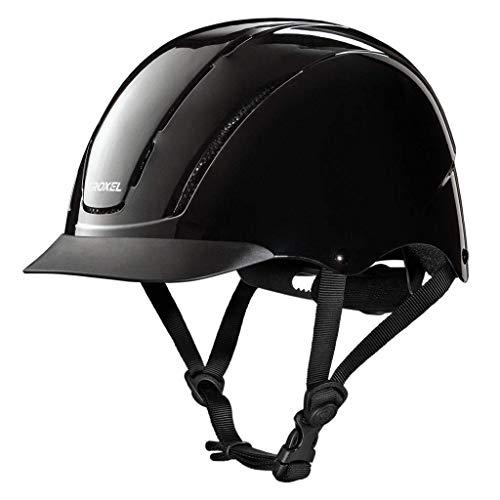 horseback riding helmets TROXEL SPIRIT Black 1 Equestrian Riding Adjustable Helmet ASTM/SEI Certification