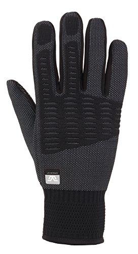 Gordini Men's Men's Tempo Ergoknit Gloves, Black, Medium