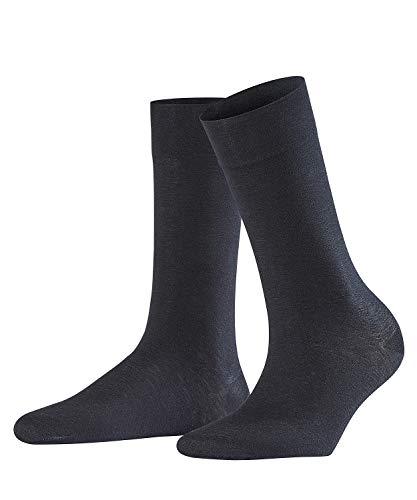 FALKE Damen Socken Sensual Cashmere - Baumwoll- /Kaschmirmischung, 1 Paar, Schwarz (Black 3009), Größe: 39-42