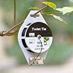 YDSL 328ft (100m) Twist Ties, Plant Ties for Vines Garden Wire with Cutter for Gardening Home Office, Multi-Function… 12 GREAT LENGTH & SUPERIOR MATERIAL】This garden wire is made from super quality green plastic - coating iron, which measures 328ft (100m) per reel, durable and enough to be used for long time. 【PROTECT PLANTS】 Our plastic coated wires with great length(328ft) are perfect for garden twist tie, and other plants to trellis, stakes, or any other supports. 【BEST ASSISTANT FOR YOUR HOME & OFFICE】 The plant ties function, our tie twist can be your great companion at home or the office, help you organize well the headphones lines, computer lines , mobile phone cables and others.