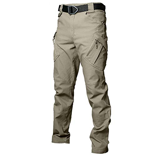 DEBND Mens Military Tactical Pants Casual Camo Breathable Quick Dry Hiking Trousers Lightweight Walking Trousers Windproof Skiing Pants
