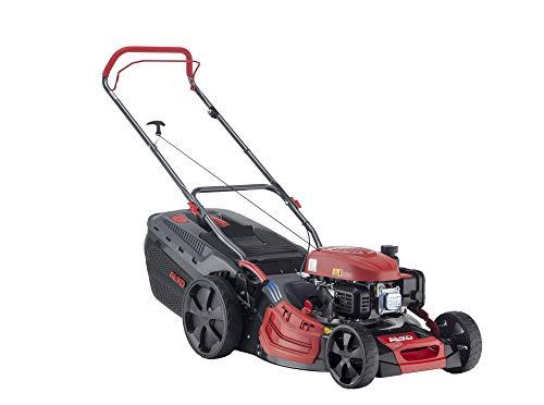 AL-KO Benzin-Rasenmäher Comfort 51.0 P-A (51 cm Schnittbreite, 2.1 kW Motorleistung, Robustes Stahlblechgehäuse, Mulchfunktion, Seitenauswurf, für Rasenflächen bis 1500m²)