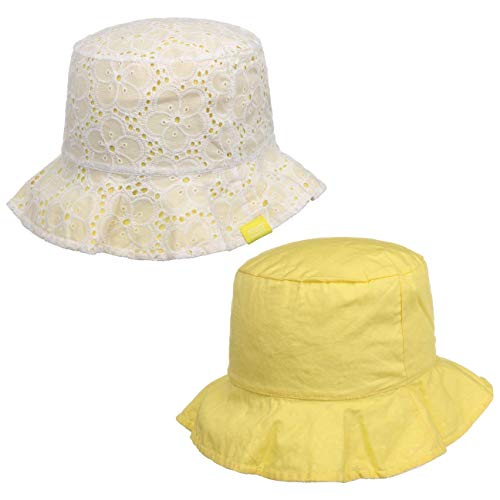 maximo Chapeau de Soleil Broderie Chapeau bébé, Jaune