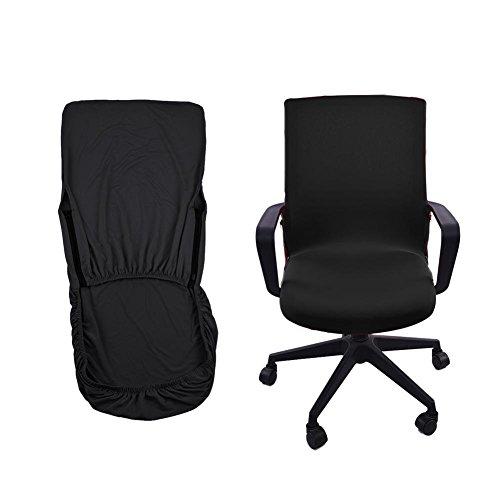 Office Computer Chair Cover Abdeckungen Abdeckung Armlehnen sitz Abdeckungen Dehnbar Rotierenden Sessel Cover Schonbezug für Haus und Büro By Seasaleshop