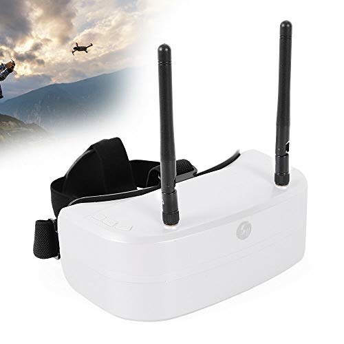 SHIOUCY FPV Video Goggles 48Ch 5.8G Resolution 960*240 FPV Goggles 5.8G FPV Schutzbrille Video Brille+Dual Antennas