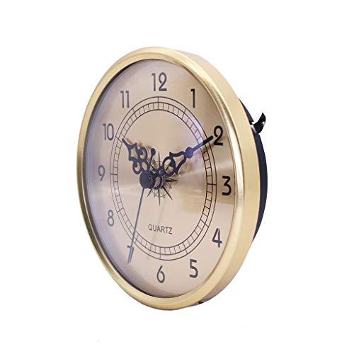 Harilla 4.25Inch Quartz Clock Insert Roman Numeral Quartz Movement DIY Battery Powered