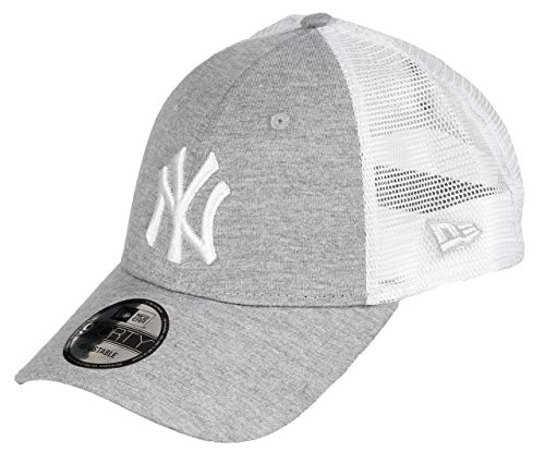 New Era New York Yankees 9forty Adjustable Cap - Summer League - Grey/White - One-Size