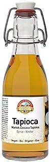 Biologische tapiocasiroop 200 ml BIO, hersluitbare glazen fles, alternatief voor suiker, natuurlijke zoetstof met de hand ...