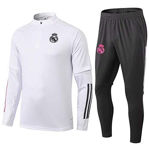 zhaojiexiaodian Uniforme de fútbol de manga larga, primavera y otoño, camiseta deportiva para adultos, traje de entrenamiento, traje de competición (Figura 2, M)
