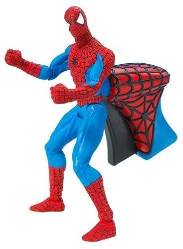 Marvel Spider-Man Super Jab Spider-man with Rapid Punch Action Figure by Toybiz