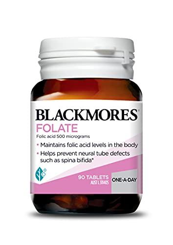 Blackmores Folate 500mcg (90 Tablets)