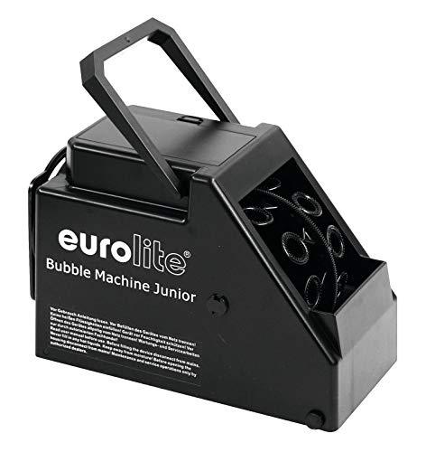 EUROLITE B-60 Seifenblasenmaschine Junior | Kompakte Seifenblasenmaschine für Batterie- oder Netzbetrieb