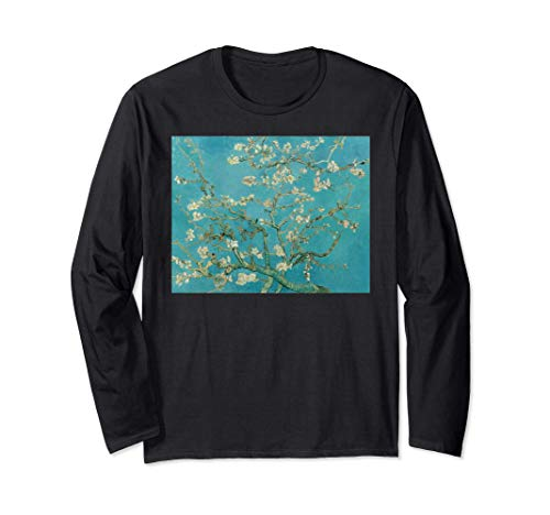 El almendro en flor de Van Gogh Arte moderno Pintura al óleo Manga Larga