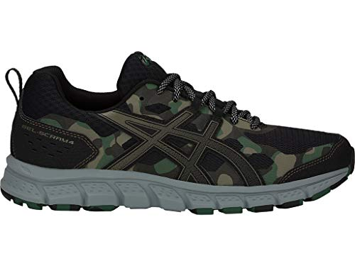 ASICS Men's Gel-Scram 4 Running Shoes, 8M, Black/Irvine