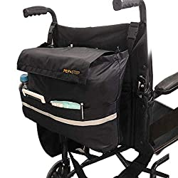 Best Bags for Wheelchairs and Walkers #9 - Wheelchair Backpack Bag by Pep Step