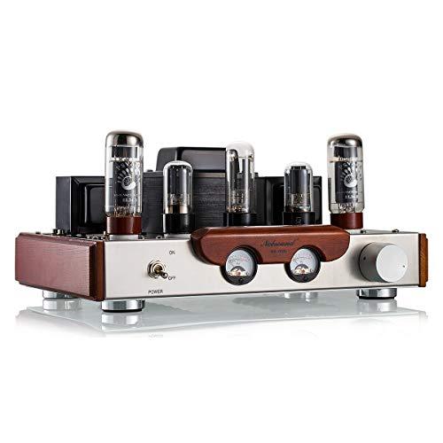 Nobsound, amplificatore tubolare EL34 per stereo HiFi 2.0 Channel, di classe A, a terminale singolo, potenza di 8 W + 8 W