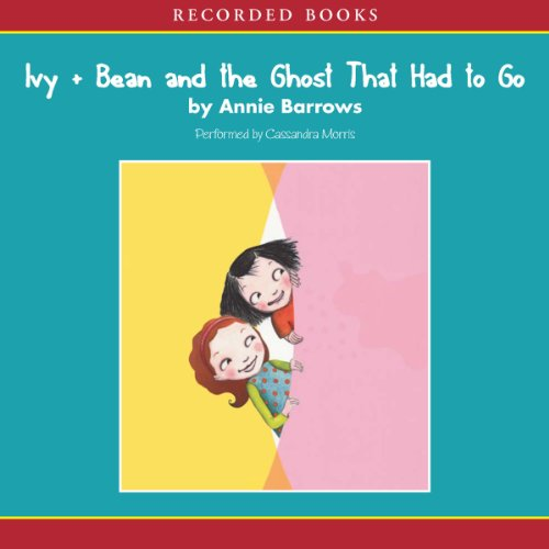 Ivy and Bean and the Ghost That Had to Go audiobook cover art