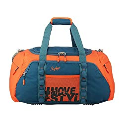 SKYBAGS 55Cm Unisex Cabin Soft Luggage Duffel Bag-DFHUS55ONG(Orange),SKYBAGS,SKYBAGS_DFHUS55ONG