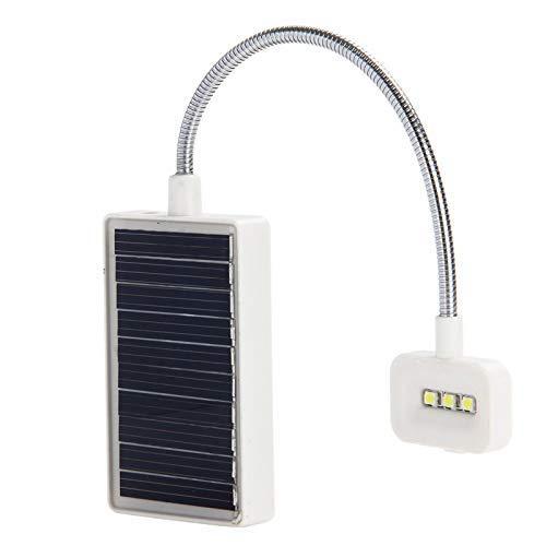 HYY-YY Solar Clip Ligero Flexible de Carga de Lectura del Libro de la lámpara con energía Solar lámpara de Mesa de Lectura luz de Emergencia for el Lector
