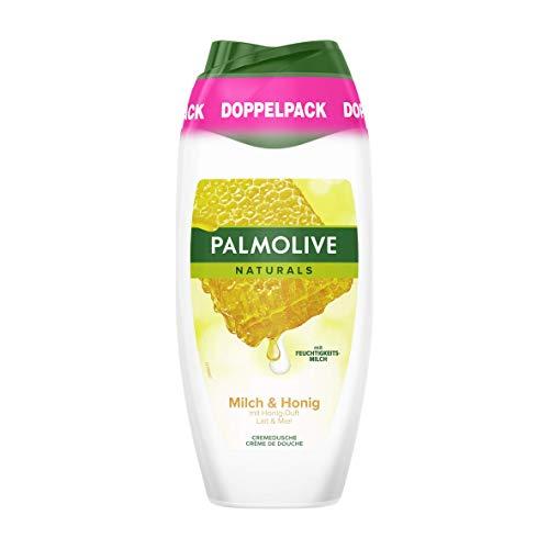 Palmolive Naturals Duschgel Milch & Honig, Doppelpack, 2 x 250 ml