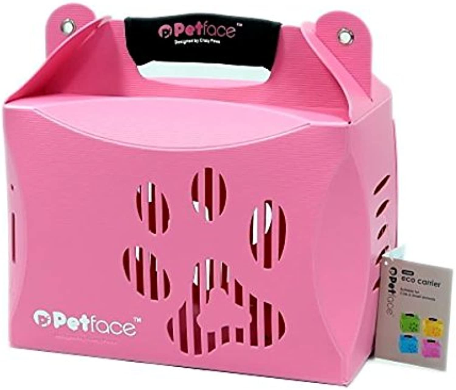 Petface Eco Carrier per animali, Pink