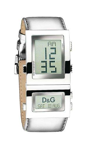 Dolce & Gabbana Reloj Digital para Unisex de Cuarzo con Correa en Piel DW0359