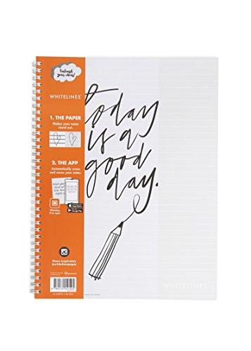 Whitelines WL100 Link A4 Lined Notebook, 80 g Papier, 60 Blatt