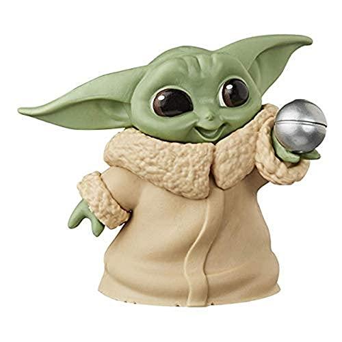 Hasbro-Star Wars Mandalorian Figura Coleccionable EL NIÑO Baby Yoda 5,5 CM, Multicolor (F12135L0)