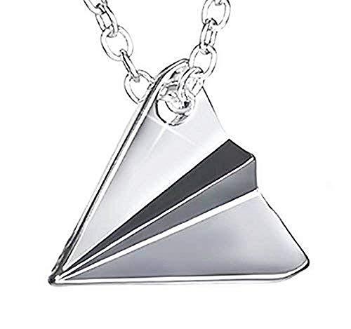 Inception Pro Infinite - Halskette für Herren und Frauen - Damen Kette - Frauenhalskette - Papierflugzeug - - Origami - One Direction - Directioner - Styles