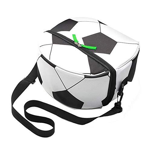 Football Sac Glaciere Souple Isotherme,Lunch Bag Sac à Déjeuner Isolé Original,Boîte à Lunch réutilisable imperméable à l'eau Sac de Repas Portable Sac de Glace