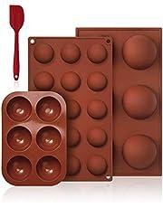 Couleur-B 2 Stampi per Cioccolato a Forma di Orso Inclusi 2 Stampi per Caramelle a Forma di Fiore Vassoi per Cubetti di Ghiaccio per Matrimoni SITAKE 4 Pezzi da Stampi da Forno in Silicone
