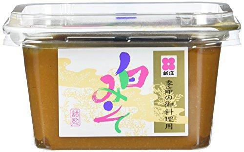 Shinjyo Shiro Miso – Helle Miso-Suppenpaste aus Japan – Ideal zum Kochen von Misosuppe oder zum Würzen von Dressings & leichten Marinaden – 2 x 300 g