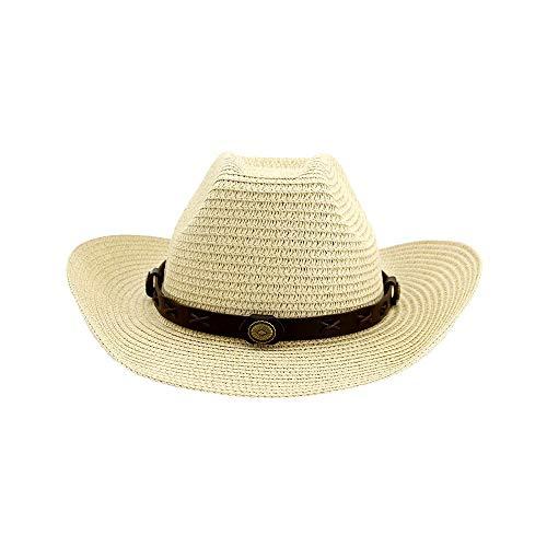 XYAL0003001 Xingyue Aile Hoeden & Caps Roll Up Zomer Strand Brim Zon Hoeden, Vrouwen Mannen Rieten westerse Cowboy Hoed Sombrero Hombre Lifeguard Jazz Hoeden